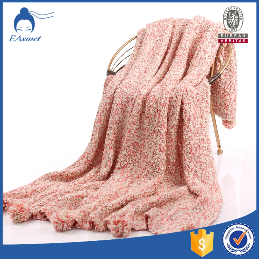 Factory Supplier Wholesale Super Soft Knitted and Woven Blankets And Throws In Stock