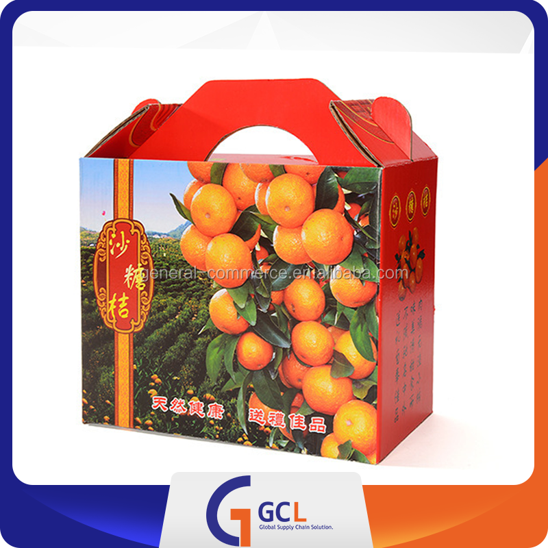 cardboard packaging boxes with apple fruit packaging boxes