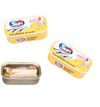 canned sardines 125g in soybean oil oem