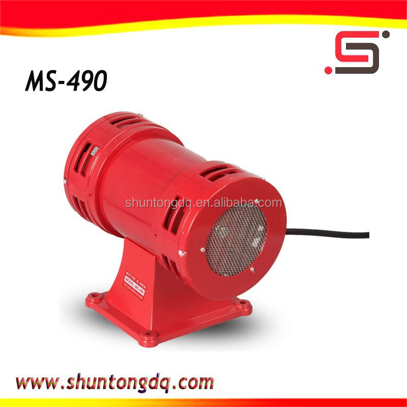 220V Industrial Electric Double Motor alarm siren MS-490