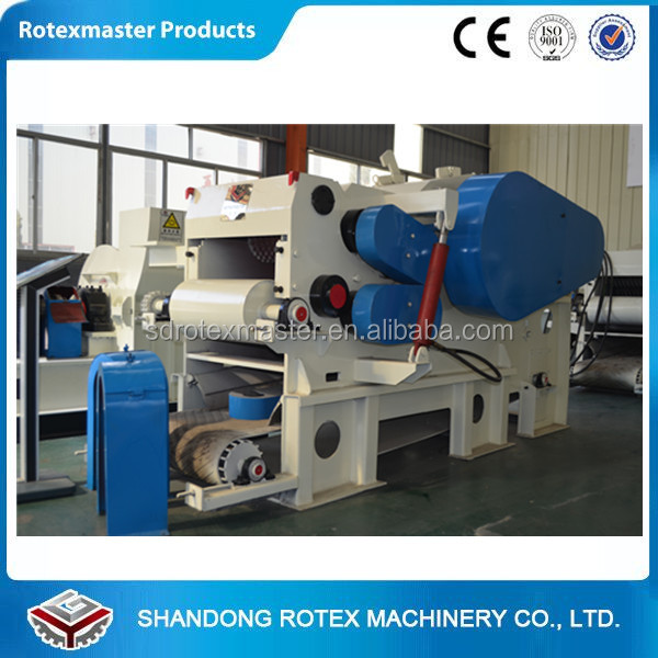 5-8 T/H Wood chipper , tree shredder , wood chips making machine for power plant