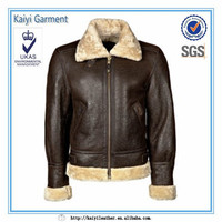 online shopping diginty men faux leather russian winter fur coat