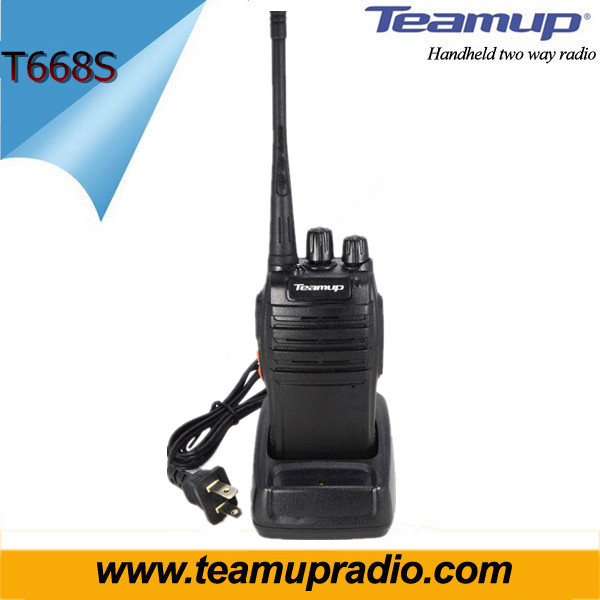 Portable Ham 2 Way Radio Uhf Transmitter Talkie Walkie from China