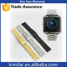 Shenzhen Factory Newest Premium Metal Watch Band Stainless Steel Strap for Fitbit Blaze. Trade Assurance!!!