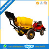 SD800 diesel concrete mixer portable with pump