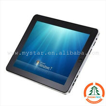 9.7inch 1024*768 tablet pc windows7