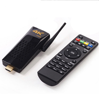 Free Shipping rk3288 android 4.4 smart 4k CS008 tv stick/dongle With remote control