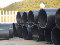 ISO4427/20mm-1600mm PE 100 sdr 11 hdpe pipe