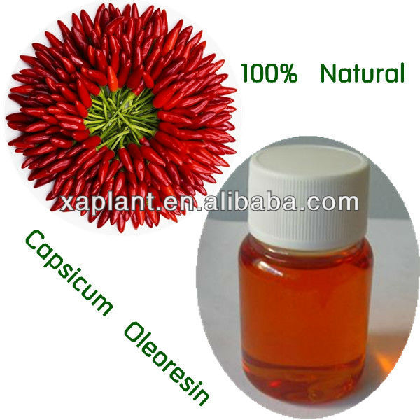 High Quality Capsicum Extract Oil and capsicum Oleoresin