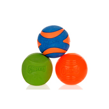 Ultra Ball Dog Chew Training Rubber Ball Toy Teeth Bite Dog Cat Play Ball Interactive Chewing Toys 3 Sizes Pet Product
