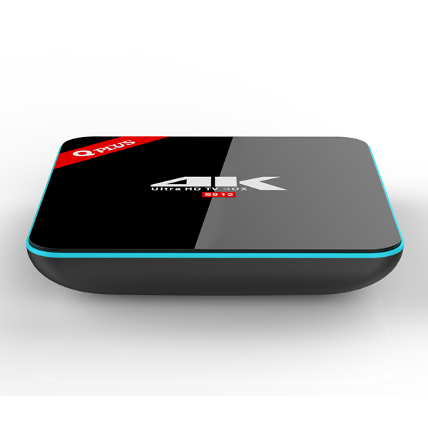 Direct Sale Set top box Q-Plus with Arabic channels 2GB RAM 16GB ROM android 6.0 Smart tv box