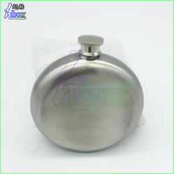 China Supplier Low Price popular stainless steel round hip flask with laser engraving logo