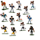 4 inch China manufactured football player/3d custom football player action figure/football action figure