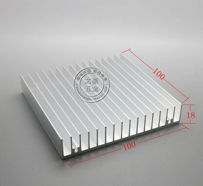 Free shipping by DHL/<strong>Fedex</strong>/UPS/EMS~ 10pcs/ lot Electronic aluminium heatsink and aluminum radiator 400*100*18MM
