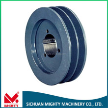 High quality aluminum v belt pulley single v groove wheel u groove wheel sliding gate hanging roller for motors