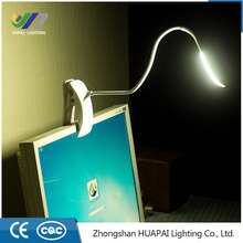 Vapai lighting Adjustable Mini Flexible Clip On Bright led Book light White LED Book Reading Lamp