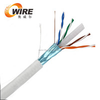 china price 5000ft 550Mhz 4pr 23awg utp cat6 armored cable price