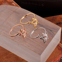 Filigree Star Design Rings For Fashion Girls