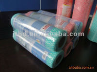 Dry cleaning cloths spunlace nonwoven wipes for restaurant