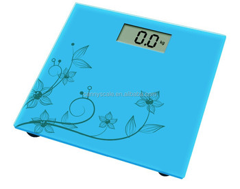 Printed cheap & high accurate electronic bathroom scales