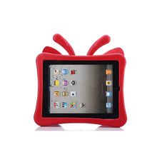 wholesale butterfly wings EVA material hard drop-against tablet case for iPad 2 3 4