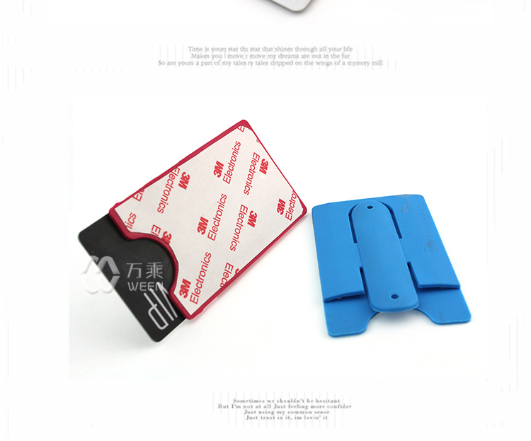 Heat transfer printing silicone card holder for smart for Walmart business card printing