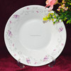 2015 cheap high quality porcelain plate dishes