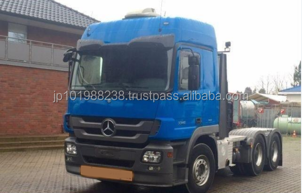 USED TRUCKS - MERCEDES-BENZ ACTROS 3348 6X4 TRACTOR UNIT (LHD 2510 DIESEL)
