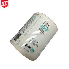 High quality printing plastic roll label personalized labels peel off labels