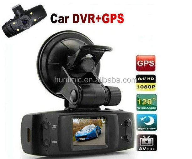 Best Seller 1.5'' Ambarella 1080P FHD GPS Car DVR Dash Camera Video Recorder GS1000 of 120 Degree+Cycle Record+G-Sensor+H.264