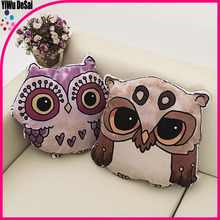 new arrival fashion owl animal tube sleeping pillow