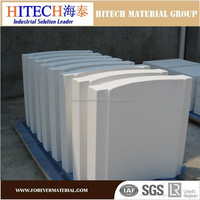 Fire-resistant fiber board refractory material for furnaces