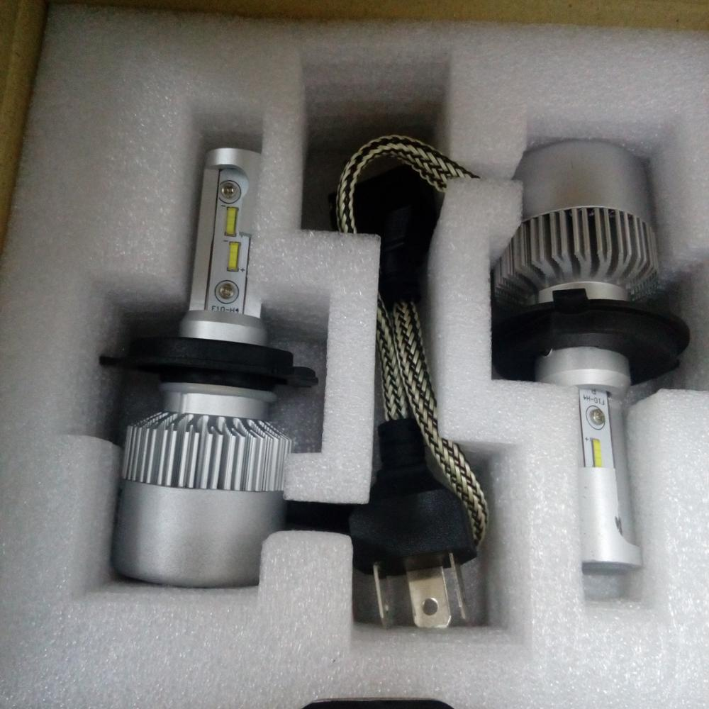 driving s2 new led car headlights h4/ h1/h7/h11/9012/9005/9006 mini projector lighting bulbs