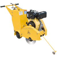Powerful Asphalt Road cutter for road construction site with petrol engine
