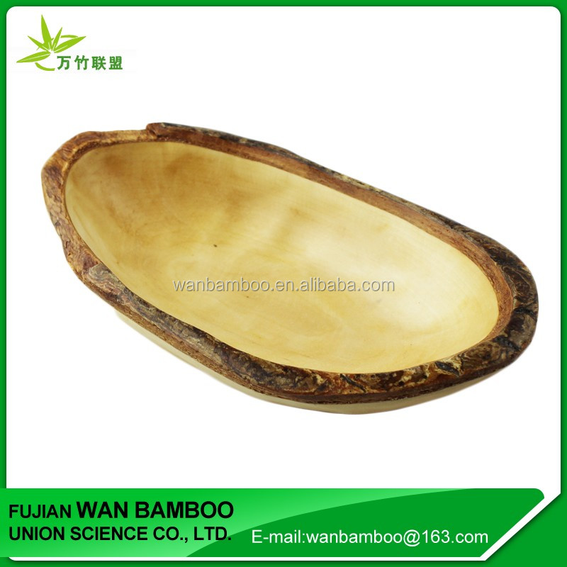 Portable Wood Fruit Food Tray for Car Use