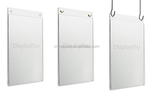A4 Acrylic Wall Hanging Poster Displays