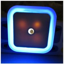 LED Square Outlet Coverplate Plug-in Night Light lamp Angel with Colorful light