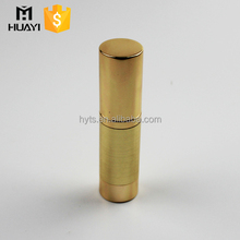 luxury gold color airless pump spray empty bottle cosmetic