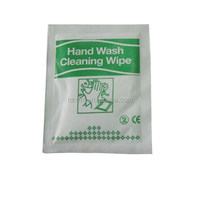 Individual wrapped Dashboard cleansing wipes