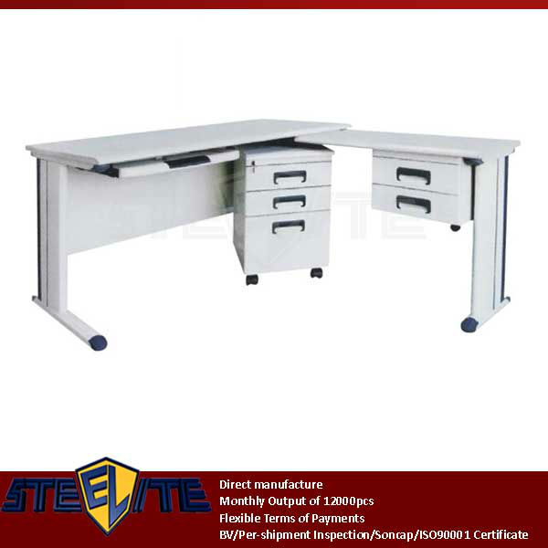 Modern Metal Writing Desk