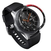 Classic Bezel Ring Adhesive Cover Anti Scratch Aluminium Protection Watch Bezel for Galaxy Watch 46mm