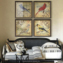 Top sell pictures art design birds picture wall decoration art