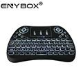 2017 ENYBOX T2 2.4G touchpad mini wireless keyboard for tv box