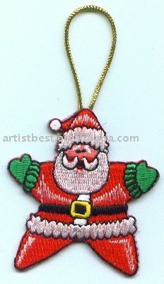 Embroidery Patch Xmas Patch christmas decoration