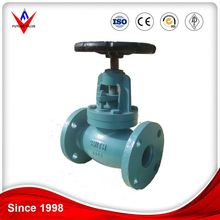 Advanced Production Technology API Standard Cast ANSI Iron Flange Bellows Globe Valve