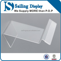 Display acrylic stand for menu and poster