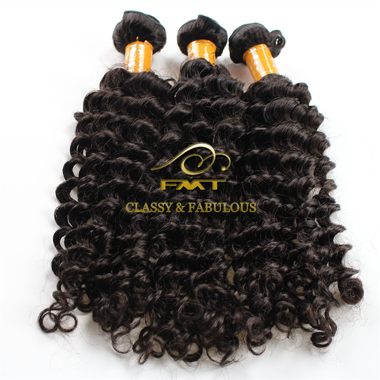 Cheap Sample Human Hair Extension Unprocessed Deep Wave Hair Extensions Singapore
