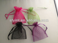 personalized organza drawstring gift bags