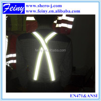 Iron buckle reflective suspenders for cycling
