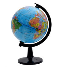 New products custom design blue round world map globe
